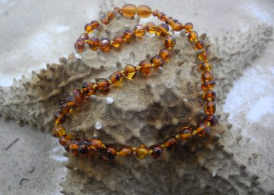 Natural Baltic amber necklace BA03