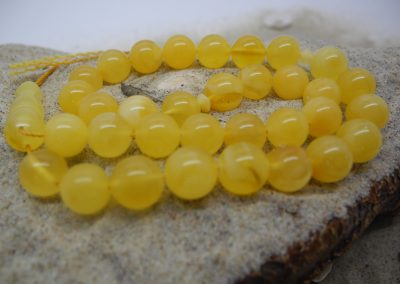 Natural Baltic amber Muslim rosary RO011