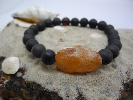 Natural Baltic amber bracelet BRA28