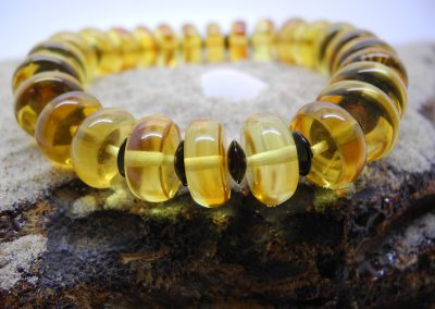Natural Baltic amber bracelet BRA30