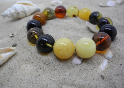 Natural Baltic amber bracelet BRA25