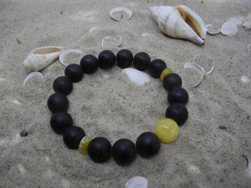 Natural Baltic amber bracelet BRA24