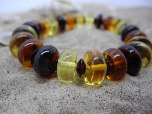 Natural Baltic amber bracelet BRA22