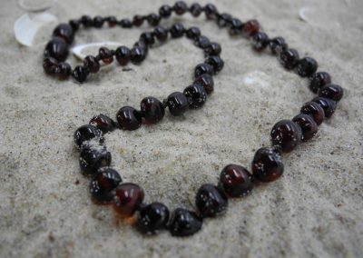 Natural Baltic amber baby necklace BA08
