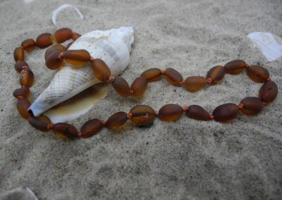 Natural baltic amber necklace BA11